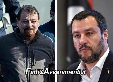 """L'ex latitante Battisti confessa e chiede scusa, Salvini: """"Meglio tardi che mai, ma nessuno sconto di pena"""""""