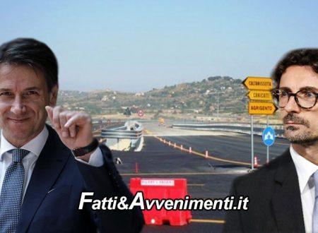 """Premier Conte domani in Sicilia: """"La Statale Agrigento-Caltanissetta è un cantiere più strategico della Tav"""""""