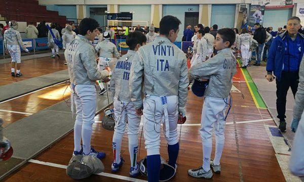 Sulmona (Aquila). Sciabola maschile e femminile a squadre under 14: il Discobolo Sciacca arriva in finale
