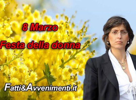 8 marzo. La Donna eterna Musa ispiratrice: intervista al Ministro Bongiorno contro la violenza sulle donne