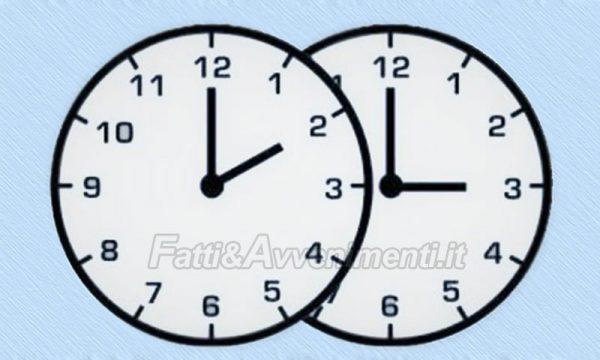 Questa notte alle 2 torna l'ora legale: lancette in avanti di un'ora