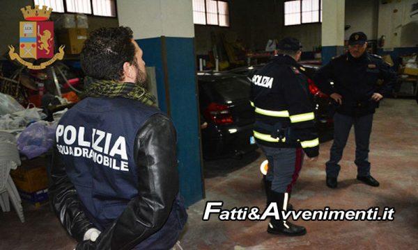 Ragusa. Auto di lusso rubate e rivendute tra Libia e Malta: 40 indagati, da Agrigento a Catania