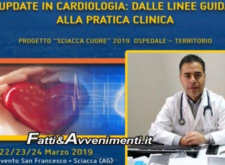 """Sciacca. Cardiologi da tutta Italia per il congresso """"Progetto Sciacca Cuore 2019"""": dal 22 al 24 marzo"""