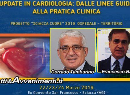 """Sciacca. Inizia domani il congresso """"Progetto Sciacca Cuore 2019"""" con cardiologi siciliani e di varie Università italiane"""