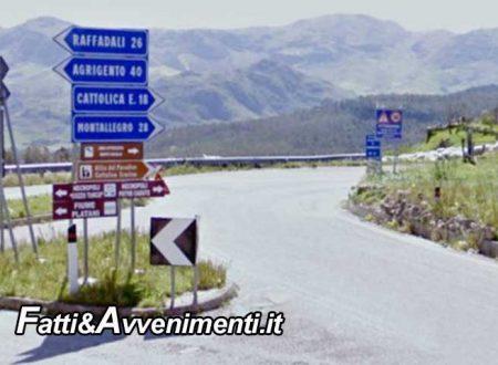 SP n. 32 Ribera-Cianciana. Pubblicato il bando: a breve sarà ripristinata la sede stradale