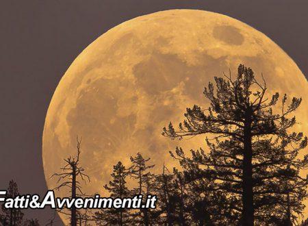 """Questa sera l'ultima """"Superluna di primavera"""" per la prossima si dovrà attendere il 2030"""