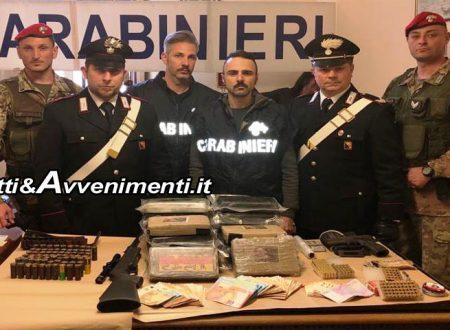 Catania. Blitz in allevamento di cavalli: trovata cocaina per 4 milioni di euro e armi, un arresto – VIDEO