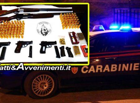 Catania. Librino al setaccio: trovato deposito di armi e munizioni nel sottotetto di una palazzina