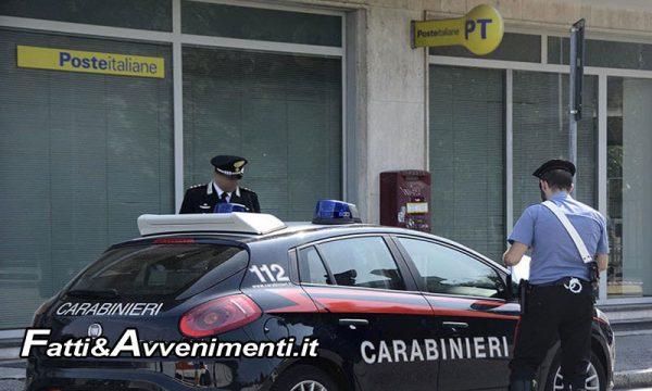 Aci Castello (CT). Sottrae oltre 360mila euro dai conti di anziani clienti: arrestato impiegato postale