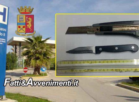 Sciacca. 47Enne girava armato di coltello nel corridoio del Pronto Soccorso: denunciato
