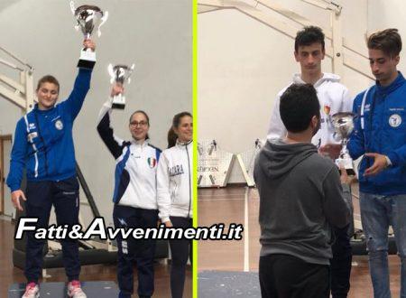 Sciacca, scherma. Discobolo domina la Coppa Italia Regionale di Catania: Oro per Frenna, Bronzo per Napoli
