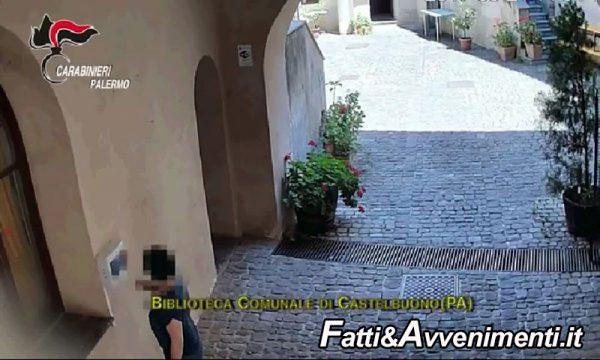 Castelbuono e Collesano, antiassenteismo e furbetti del cartellino: eseguite 15 misure cautelari personali -Video