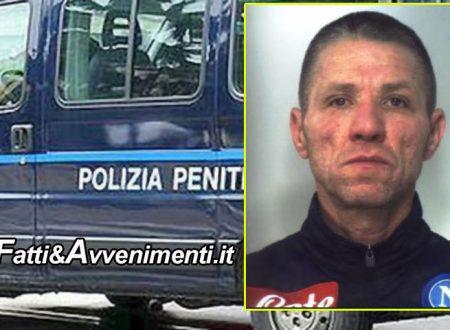 Catania. Finita la fuga dell'evaso: catturato mentre tentava di raggiungere l'abitazione di un parente
