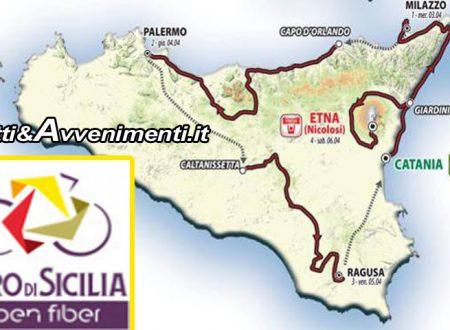 Ciclismo, Giro di Sicilia. Scuole chiuse a Catania, Messina e Enna: ecco Tappe e dettagli
