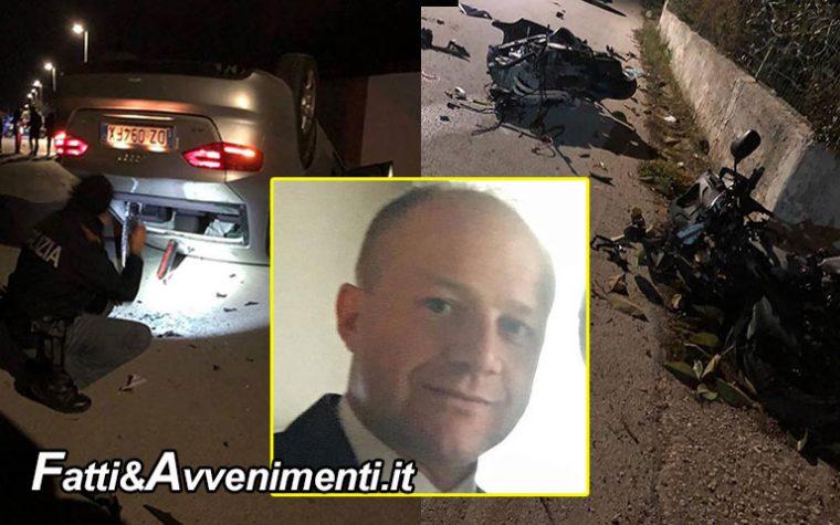 Castelvetrano. Incidente mortale nella notte, perde la vita un 39enne collaboratore dello chef Natale Giunta