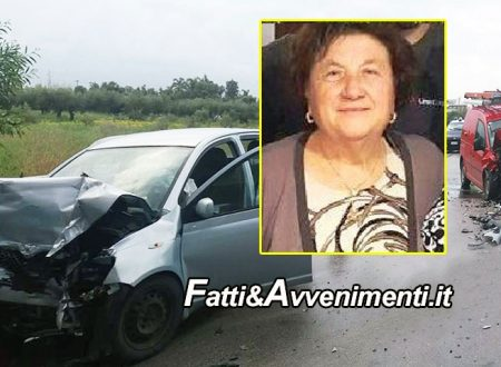 Sciacca. Incidente mortale, scontro auto-furgone Tim, perde la vita una donna e due feriti