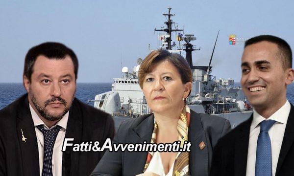 """Scontro """"sicurezza"""" tra Di Maio, Trenta e Salvini che risponde: """"Su sbarchi, porti e Prefetti decido io"""""""