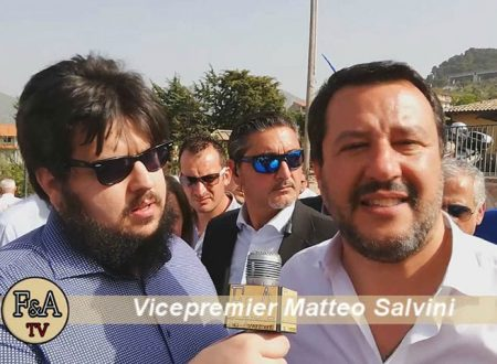 """25 Aprile. Salvini a Monreale: """"Sicilia non è mafia, ma giovani volenterosi e aziende che resistono"""" – Intervista Esclusiva"""