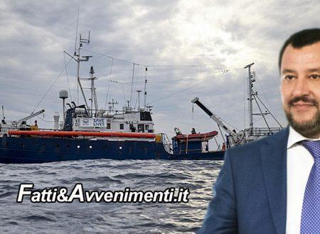 "Sicilia. L'Ong tedesca Sea Eye lascia Lampedusa e va a Malta: vince la ""linea Salvini"""
