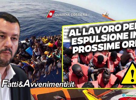 """Intercettato barcone con 90 migranti e portati a Lampedusa: Salvini: """"Verranno rispediti a casa in poche ore"""""""