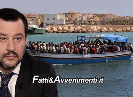 """Guerra in Libia. 6000 migranti pronti a partire per l'Italia, Salvini: """"nuova direttiva, acque e cieli italiani chiusi"""""""