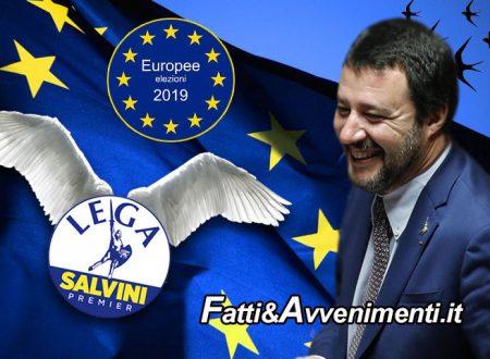 Sondaggi Europee, la Lega mette le ali e vola al 37%, il 18% dei grillini voterà Salvini e gli altri perdono: ecco i dati