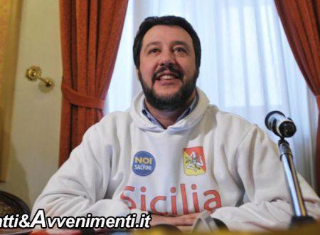 """Sicilia 25 Aprile. Il ministro Salvini a Corleone """"Per liberare l'isola dalla mafia"""": ecco tutte le tappe"""