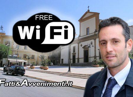 """Ribera. Wi-Fi gratuito in piazza anche per non residenti: """"Internet mezzo di informazione e servizi"""""""