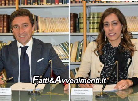 Caltabellotta. Rino Granillo eletto Presidente del Consiglio comunale, Jessica Farina  Vicepresidente