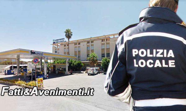 Sciacca. Polizia Locale fuori dall'ex Motel Agip: a giugno sfratto, a luglio si vende l'immobile