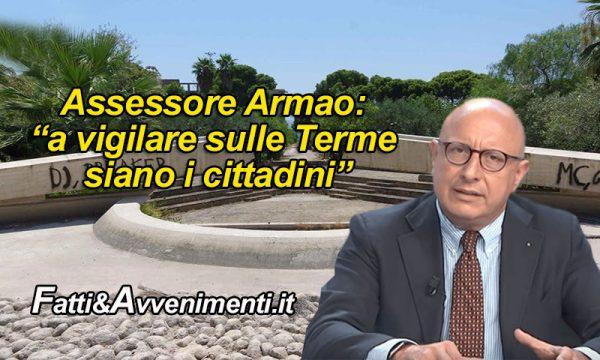 """Sciacca. Arriva Armao ma non consegna Parco Terme e propone """"l'autogestione""""… e le istituzioni che fanno?"""