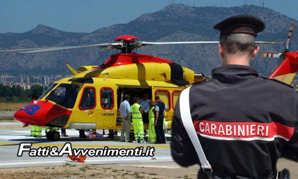 S. Margherita Belìce. Litiga e investe un uomo: arrestato per lesioni gravissime, vittima elitrasportata a Palermo