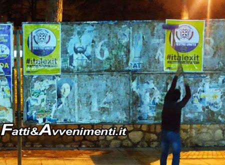 Palermo. Agguato squadristra antifascista: aggrediti giovani di Casapound mentre affigevano manifesti