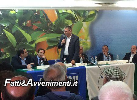 """Ribera. Convegno Lega su Problematiche Agricole con i senatori Vallardi e Pisani: """"Consorzi Bonifica devono cambiare"""""""