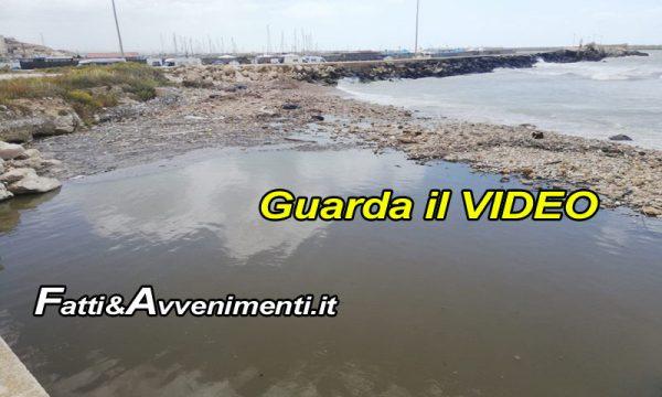 """Sciacca. Fetore e acque nere dal Cansalamone allo Stazzone, MareAmico: """"Altissimo inquinamento cloacale"""""""