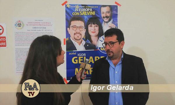 """Sciacca. Igor Gelarda(Lega) all'Urban Center: """"In Europa per difendere la nostra terra"""""""