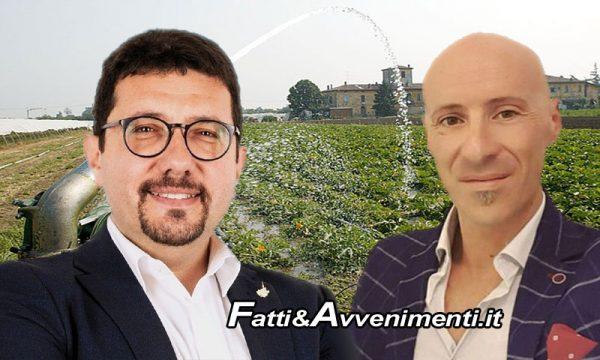 Agricoltura, conguaglio acqua 2013. Miceli e Gelarda(Lega) chiedono incontro con Ass.re Reg. Bandiera