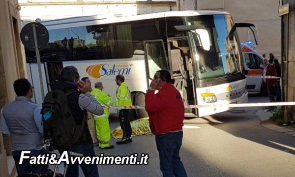 Castelvetrano. Bus travolge anziana che attraversa la strada: inutili i soccorsi