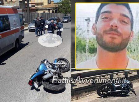Gela. È morto in ospedale il 23enne che martedì scorso con la moto cadde rovinosamente sull'asfalto