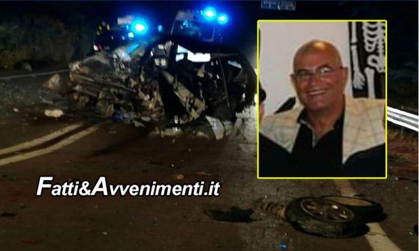 Sambuca di Sicilia. Tragico incidente: muore un 50enne, due i feriti di cui uno in gravi condizioni