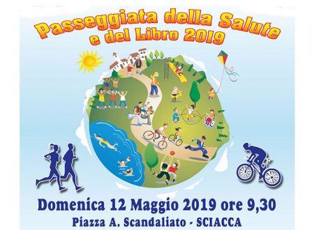 """Sciacca. Domenica 12 maggio """"passeggiata della salute""""   in piazza A. Scandaliato con i volontari del TDM"""