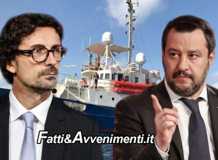 """Migranti. Salvini toglie poteri a Toninelli: """"vara norma che vieta il transito e la sosta nel mare italiano alle Ong"""""""