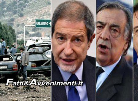 """Palermo, Strage Capaci. Orlando e Fava assenti a commemorazione: """"Contro Salvini"""""""