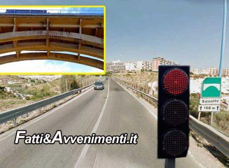 Agrigento. A metà giugno il viadotto Salsetto torna a doppio senso di circolazione: addio a file chilometriche