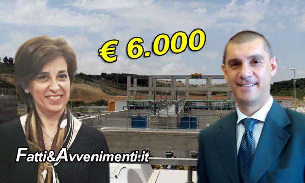 Sciacca. Depuratore senza autorizzazioni allo scarico: Multa di 6mila € al comune: errori di Di Paola e Valenti