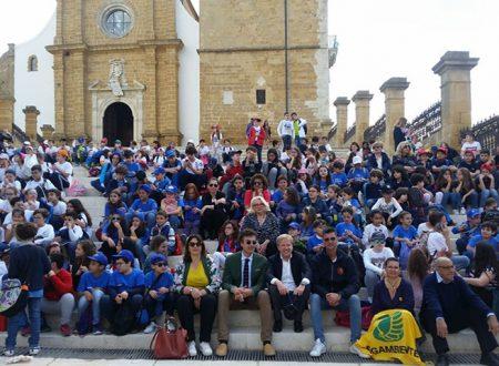 EducAgrigento: i bambini giocano nel centro storico e gli architetti donano defibrillatore portatile al Gise 118