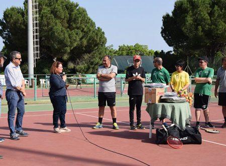"""Sciacca. Tennis Club: Fit Sicilia ed il presidente Palpacelli abbracciano i ragazzi di """"crescere insieme"""""""