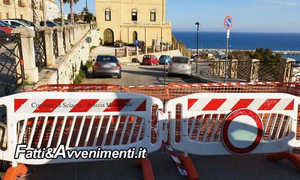 Sciacca. Via E. d'Aragona riaperta al traffico veicolare con soli 2 settimane di lavoro: miracolo delle elezioni?