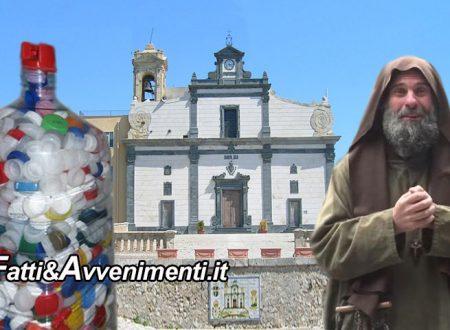 Sciacca. Martedì 18 a S. Calogero consegna tappi di plastica a Biagio Conte per la sua Missione Speranza e Carità
