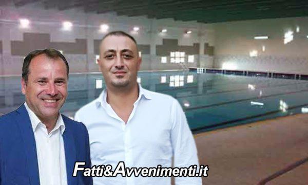 """Sciacca. Bono e Milioti: """" Dopo finanziamento di 300mila, non si hanno più notizie sulle piscine della  Perriera"""""""